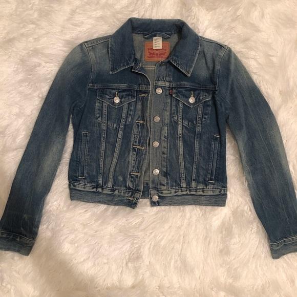 Levi's Denim Jean Trucker Jacket